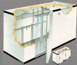 Cuartos frios fabricacion de cuartos frios for Cuarto frio cocina